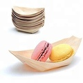115mm Sushi Sticks Sushi Container Bamboo Wooden Boat