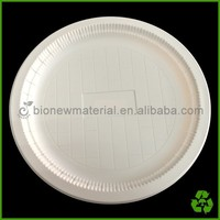 biodegradable corn starch disposable eco china plates