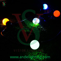 230V 100 meters E27 lamp holder led festoon belt light, outdoor christmas/holiday/party/street/garden decoration light
