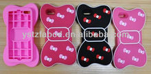 2013 new fashion lovely cartoon butterfly silicone phone case for Iphone 5