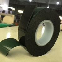 Strong adhesive 1mm thick double sided PE foam tape