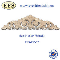 antique solid wood decorative new year furniture appliques(EFS-CZ-51)
