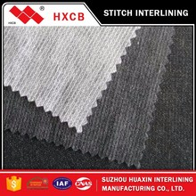 Nonwoven interlining fabric for garment accessories(6047W)