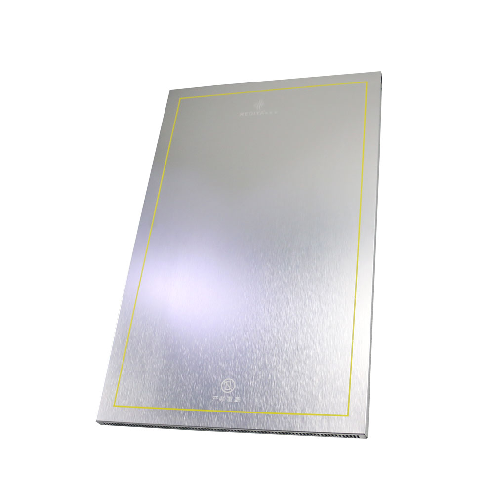 Home <strong>heater</strong> with overheating protection heating panel radiantor ultra-flat wall heating 400W electric carbon infrared <strong>heater</strong>
