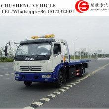 Donfeng Light Flatbed Wrecker Tow Truck For Sale Recovery Truck Vehicle