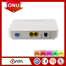 Shenzhen fiber optic equipment 1GE and 1FE Ports Gpon ONT FTTH CPE