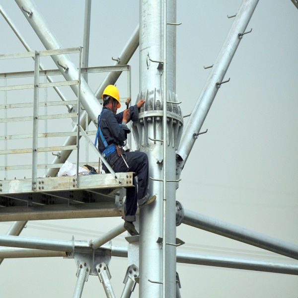 high quality stable electrical tower high voltage transmission line equipment