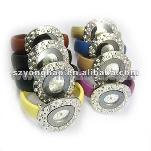 2012 hot sellladies bangle watch with japan movt wind up watches