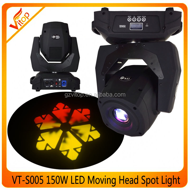 Pro dmx 150w gobo light, Spot moving head led gobo 150w