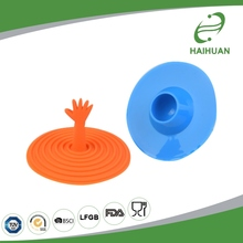 Customized Silicone Hand-Shaped Kitchen Bathroom Water Plug Sink Drain Stopper Silicone Drain Cover