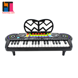 music early learning plastic simulated electronic toy children piano for wholesale
