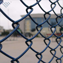 PVC diamond chain link mini mesh fence galvanized reinforcing security wire mesh