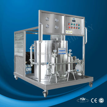 spx machine to make perfume chilling and freezing machine
