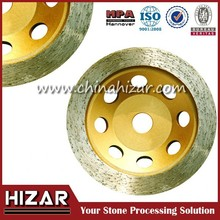 Small Diamond Continuous Cup Grinding Wheel For Granite