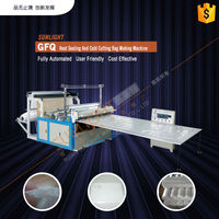 Plastic Bag Sealing And Cutting Machine