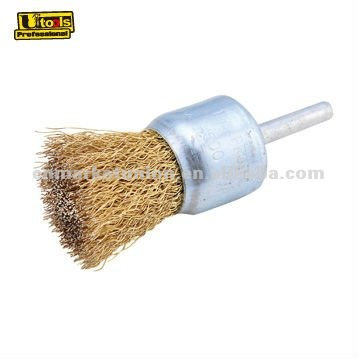 stainless steel drill wire end brush for welding