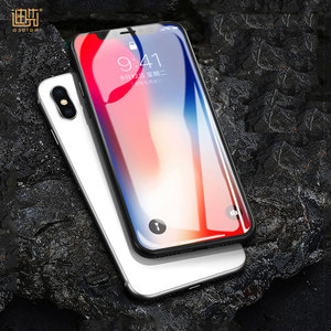Custom 9H HighTransparent 0.26MM 2.5D mobile Tempered Glass Screen Protector For iPhone X