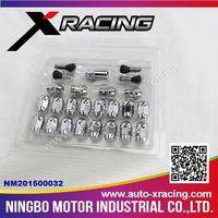 X-RACING NM201500032 Alloy Wheels Lug Nuts & Bolts /Color Wheel Nuts