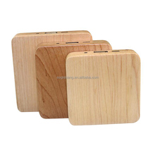 2600mah wood power bank for iphone custom Engraved logo china supplier
