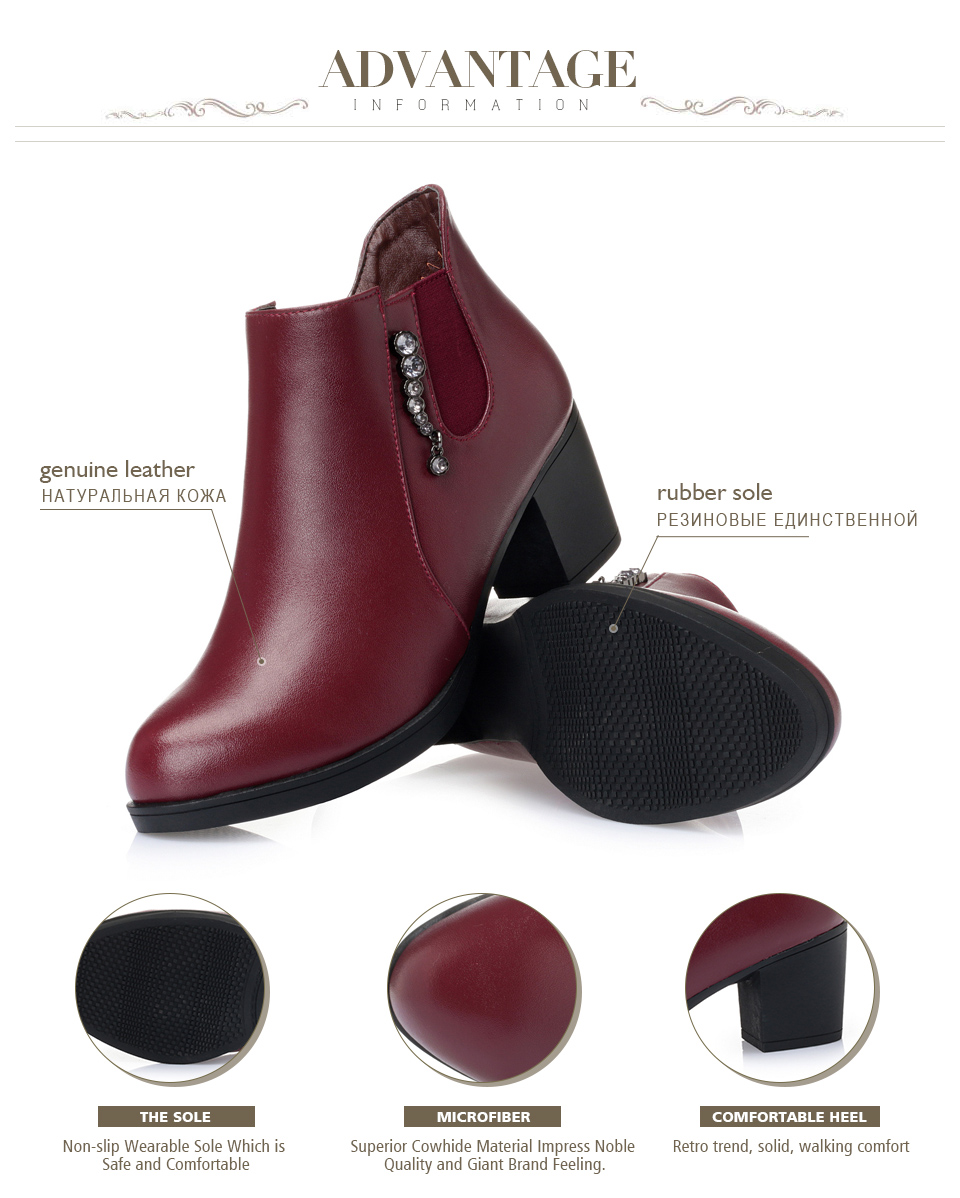 shipping cowhide genuine 35-43 5