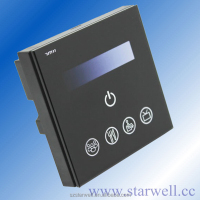 220V programable triac led dimmer with touch pannel