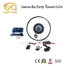 New 48V 500W Battery Powered Bicycle Kits With Battery