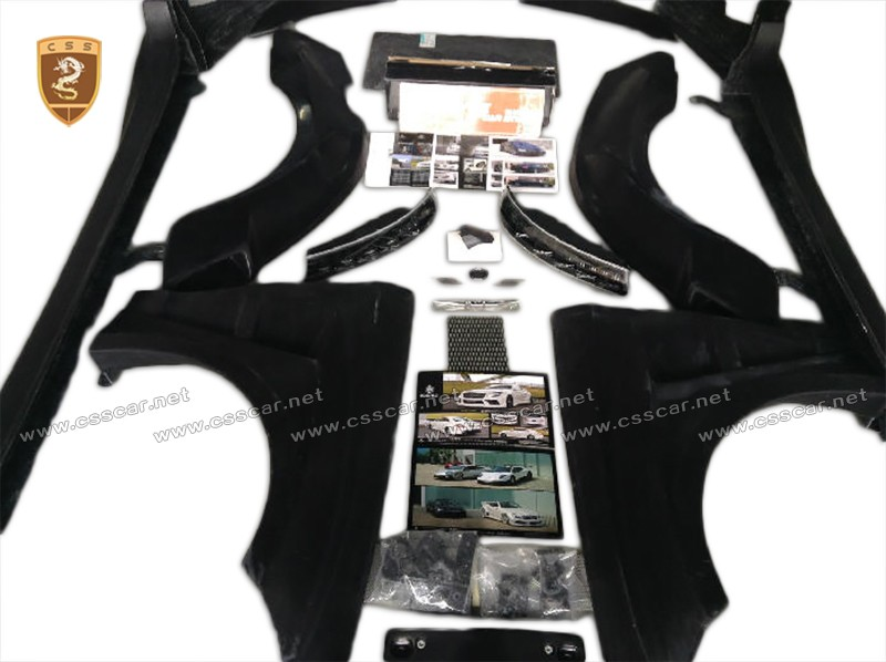 Per bens cls wide body kit FRP materiale kit corpo