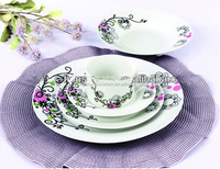SGS Certification Lead Free Cadmium Free Porcelain Dinnerware
