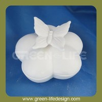 High quality ceramic jewelry ornament box