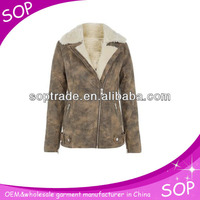 China winter warm sexy womens pea coats and jackets