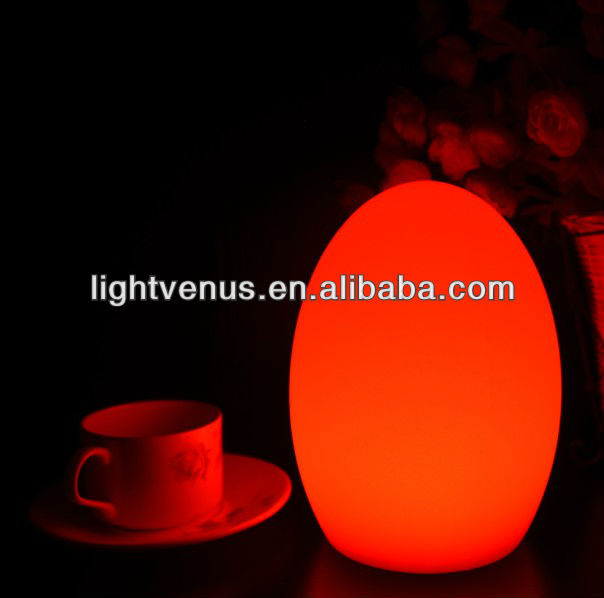 Portable rechargeable 15 color changing LED Table Lamps