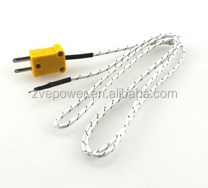 K type surface thermocouple temperature sensor 1m wire thermocouple probe -20~300C