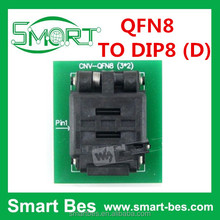 Smart Electronics High Quality , Hot selling, QFN8 TO DIP8 (D), Programmer Adapter, raspberry pi 3