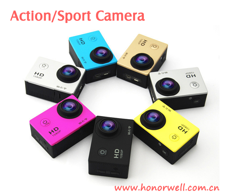 Wifi Action Camera/Sport DV Full HD 720P 1080P 4K Waterproof