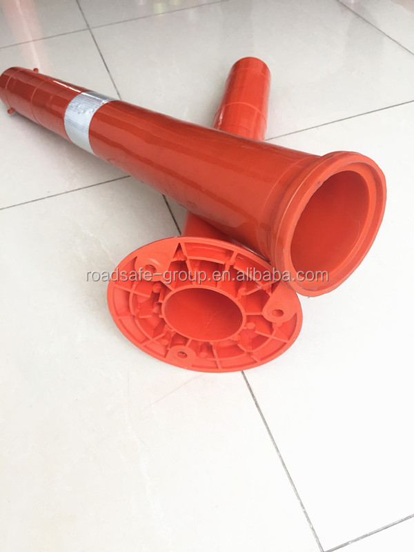 750mm roadside delineator post flexible guide post warning bollard