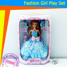 "TOYZ Lovely Baby 11"" Fashion Girl Beauty Princess fashion dressing doll"