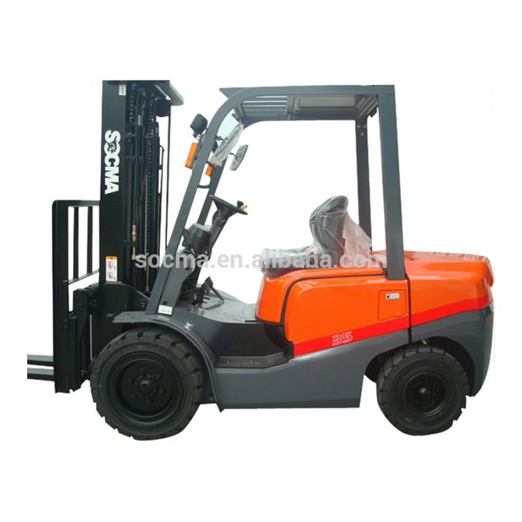 3.5 ton forklift with 6m lifting height , diesel forklift