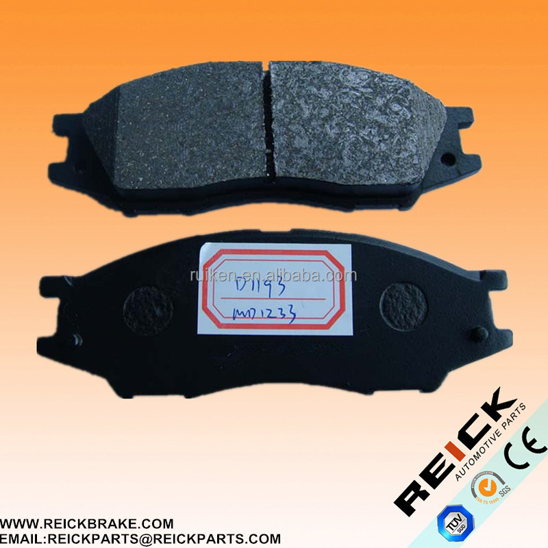 Brake pad D1193 American car LP2184 for NlSSAN Renault front NlSSIAN