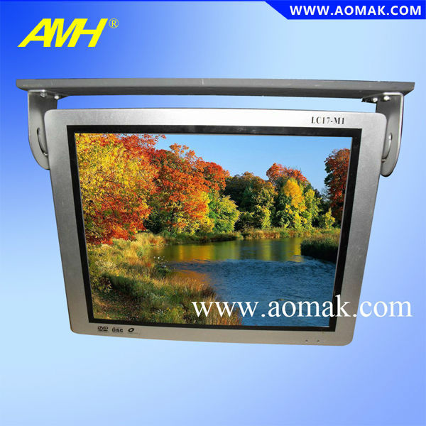 "15""17""19""22"" Bus TV Media LCD monitor with advertising player"