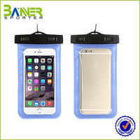2016 outdoor pvc waterproof cell phone case bag