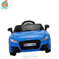 WDJE1198 Audi TTS Ride On Car With R/C Kid And Children Electric Mini Moke Car For Sale