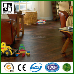 Hand Scraped Surface Vinyl Flooring Fireproof Vinyl Flooring For Kids Room