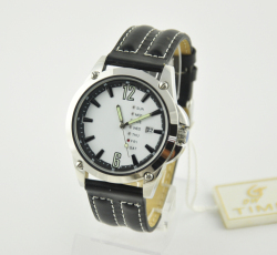 2018 Japan movt quartz watch stainless steel back watch
