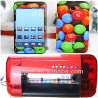 Digital cell phone case printer mobile vinyl sticker printing machine