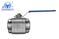 Stainless Steel 3pc High Pressure 3000WOG Ball Valve Made In China Lowest Price Factory Price