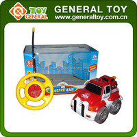Plastic Car Type 2CH Cartoon RC Car with Light and Music