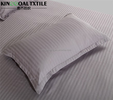 Wholesale high quality 5 star hotel 100% cotton pillowcase white color