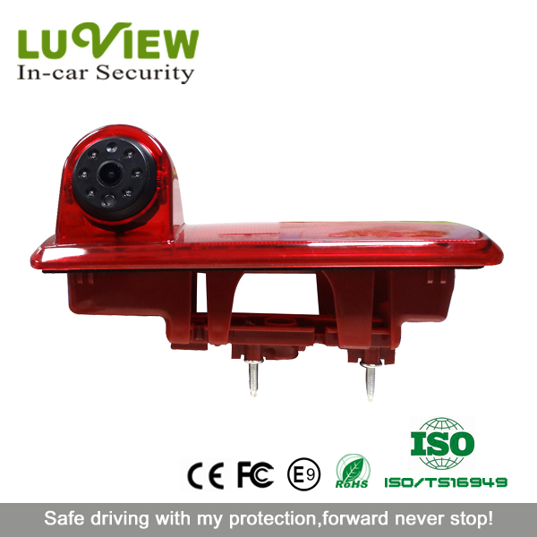 Commercial Vehicle Brake Light HD Rear View Camera for 2014 Renault Trafic 2014 Opel Vivaro