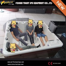 Hot sale!!! Atalanta--4 adults &1 kid luxurious outdoor spa tub/hot tub/bathtub with multiple massage for home and hotel