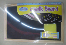 black board with chalk and eraser set kids board set office notice board A4 size